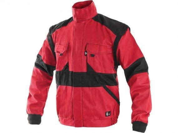 luxy-eda-pracovna-bluza-cervena-idmshop-cxs