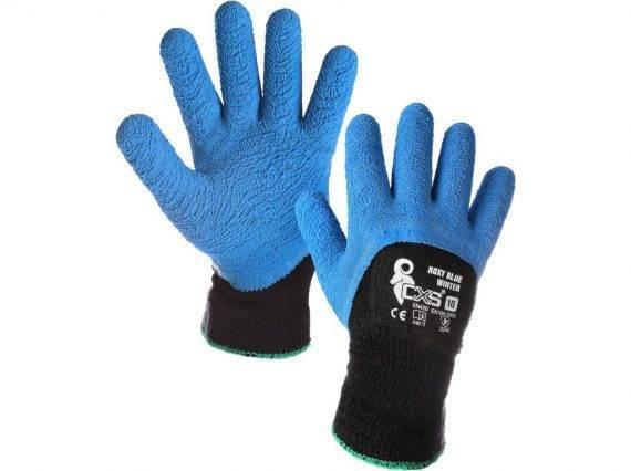 polomacane_zimne_rukavice_roxy_blue_winter