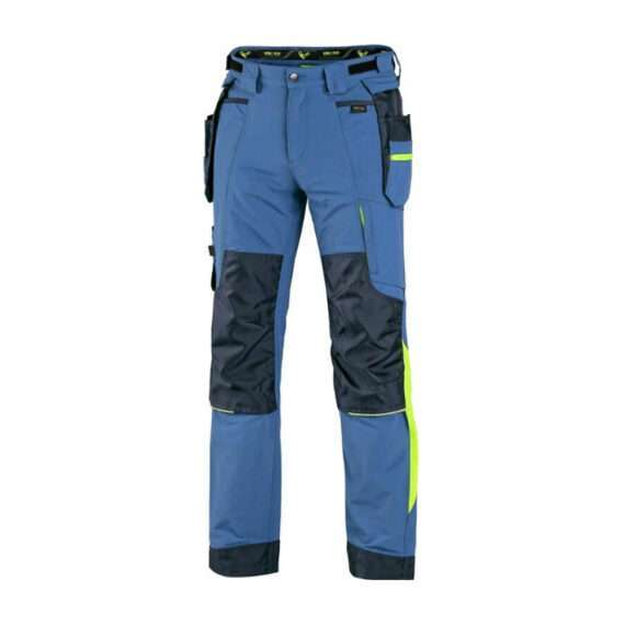naos-nohavice-pracovne-do-pasa-elasticke-modro-zlte-idmshop